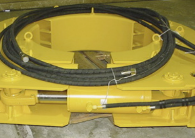 Hydraulic Retaining Clamp for Bored Piling Casings